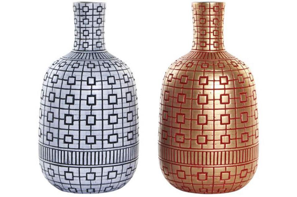 Vaza oriental golden ii 14x14x26 2 modela