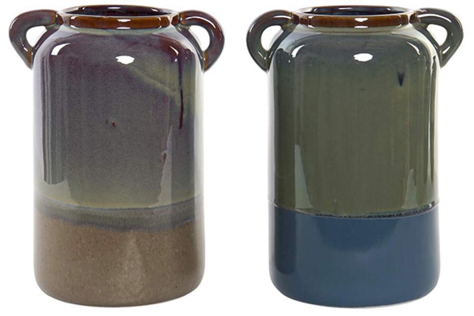 Vaza porcelan sa ručkama 20x16x26 2 modela