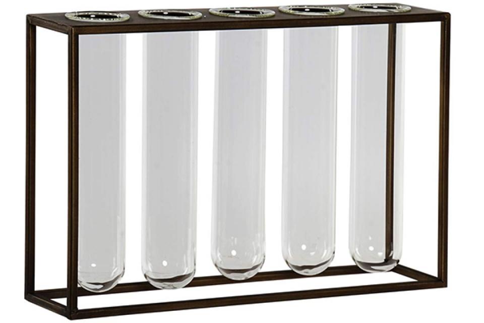 Vaza set transparent 35x8x22