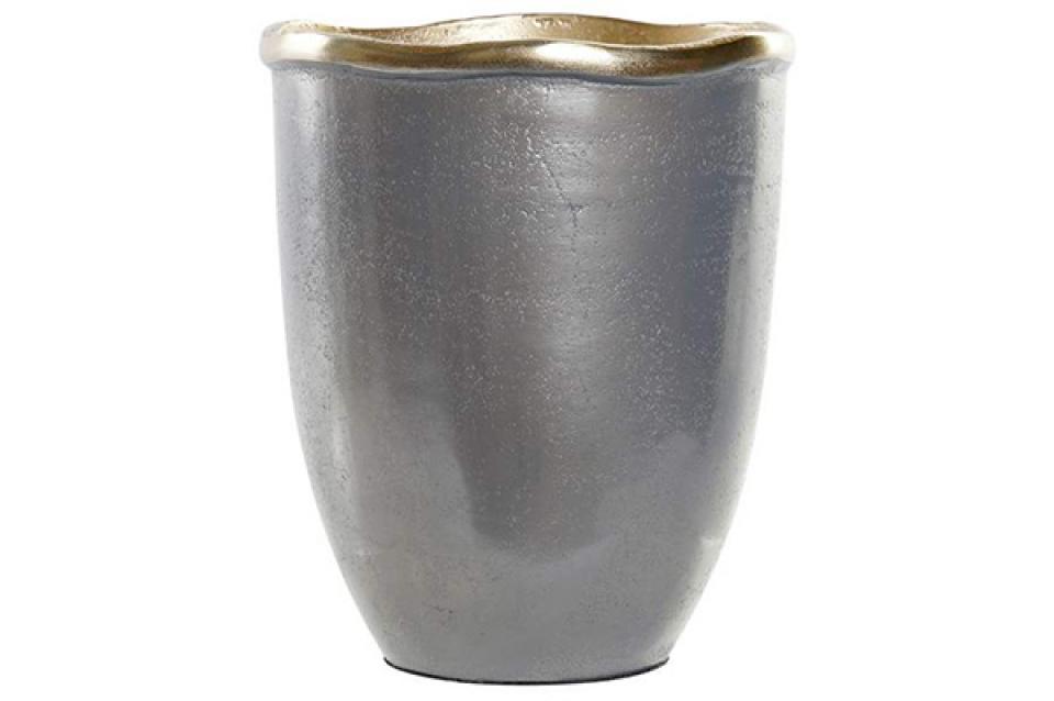 Vaza silver / al 16x16x19