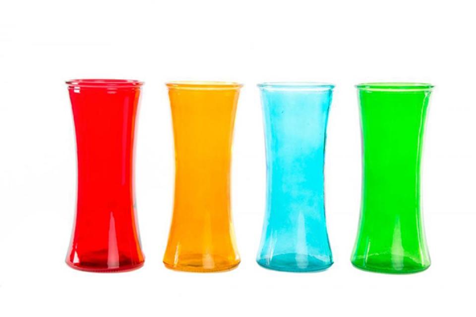 Vaza u boji 11x25 4 boje