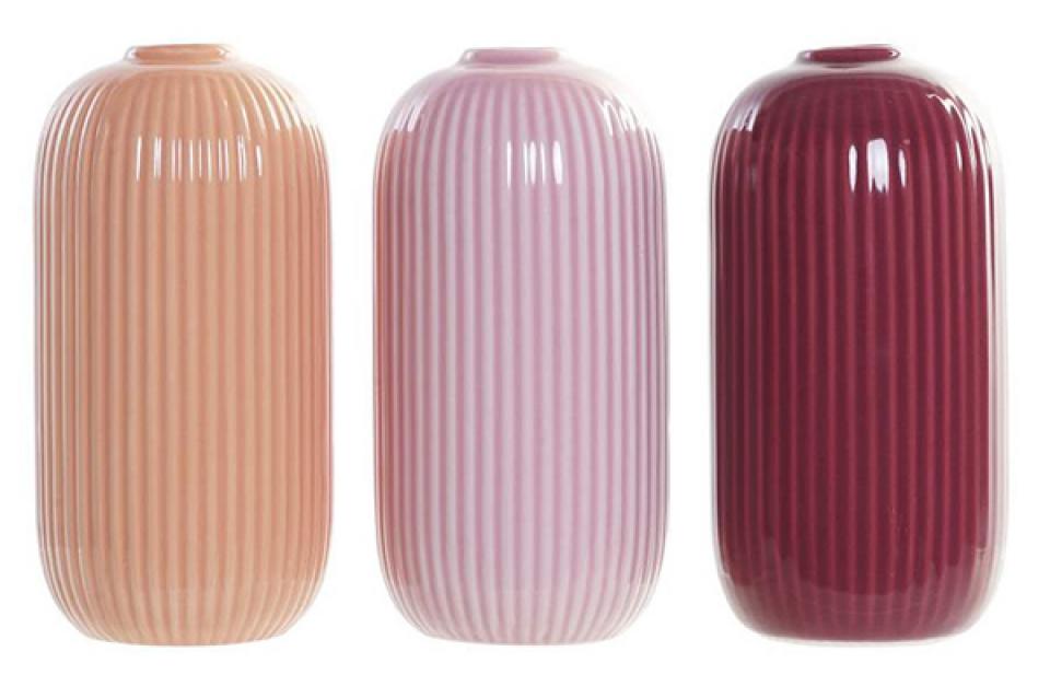 Vaza u boji 8,3x8,3x16,5 3 modela
