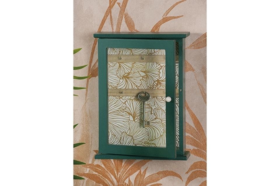 Zelena kutija za ključeve 20 x 7 x 27 2 modela