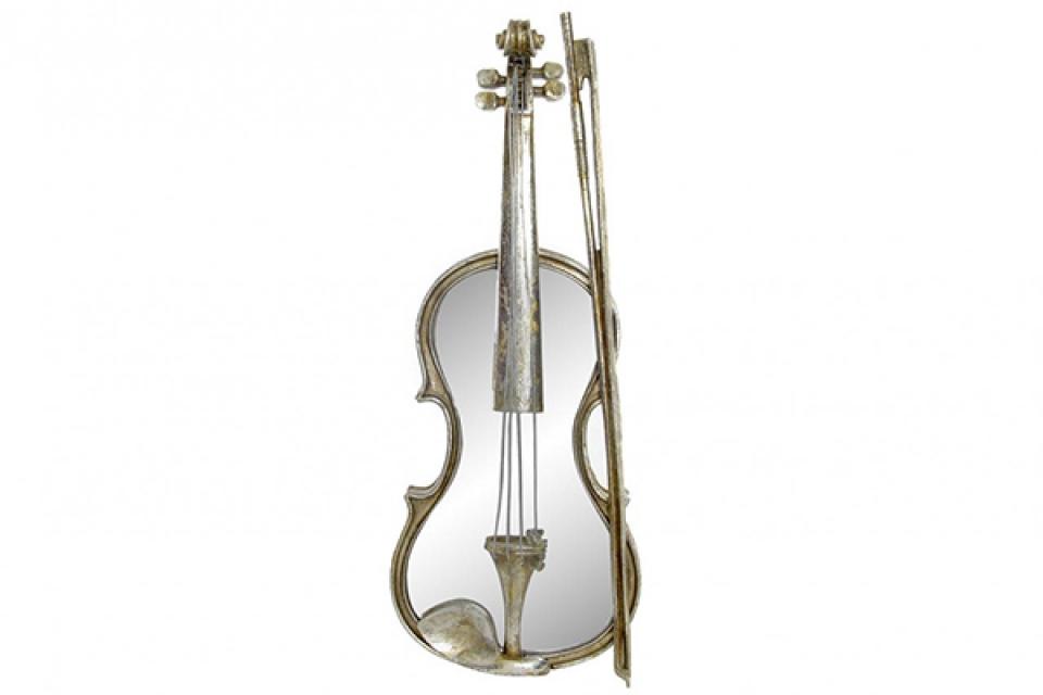 Zidna dekoracija violina 21,5x6,5x56