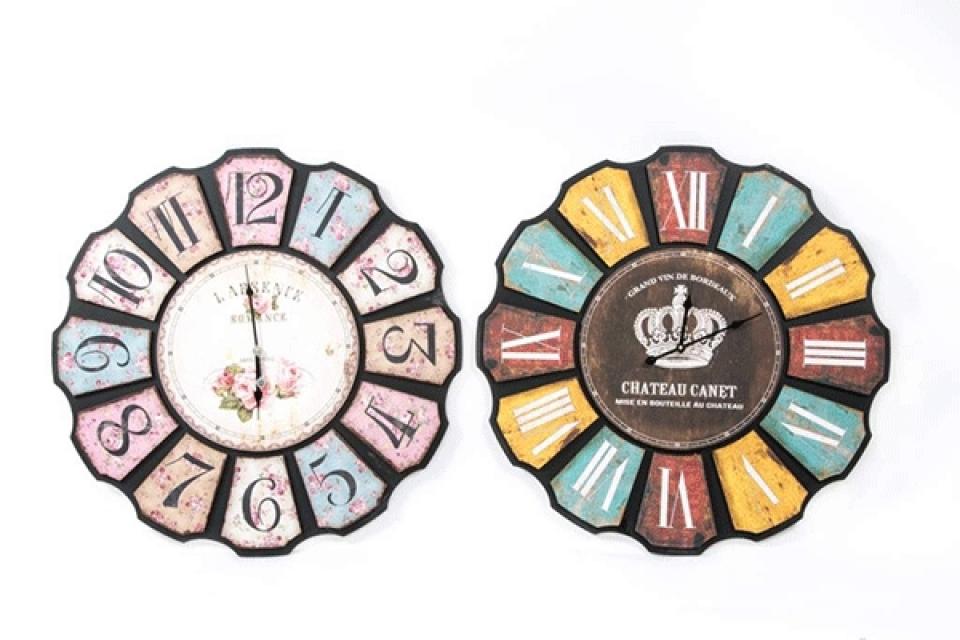 Zidni sat kruna 75 cm 2 modela
