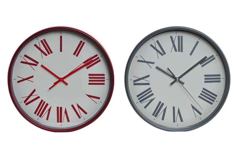 Zidni sat roma 25.5x4.5 2 modela