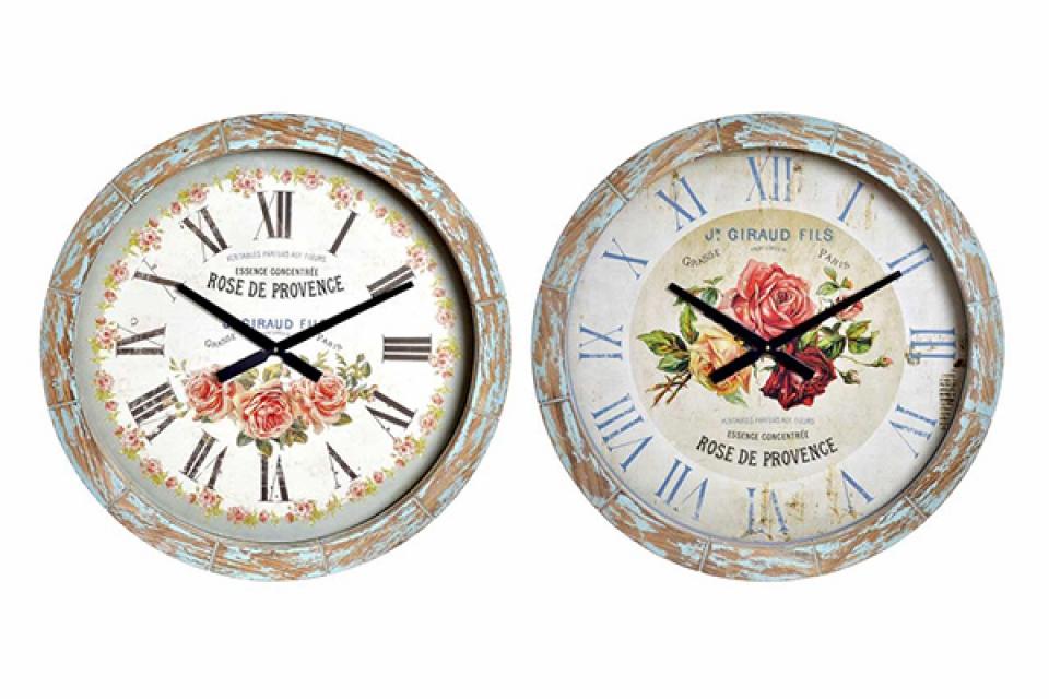 Zidni sat ruže 64x4x64 2 modela