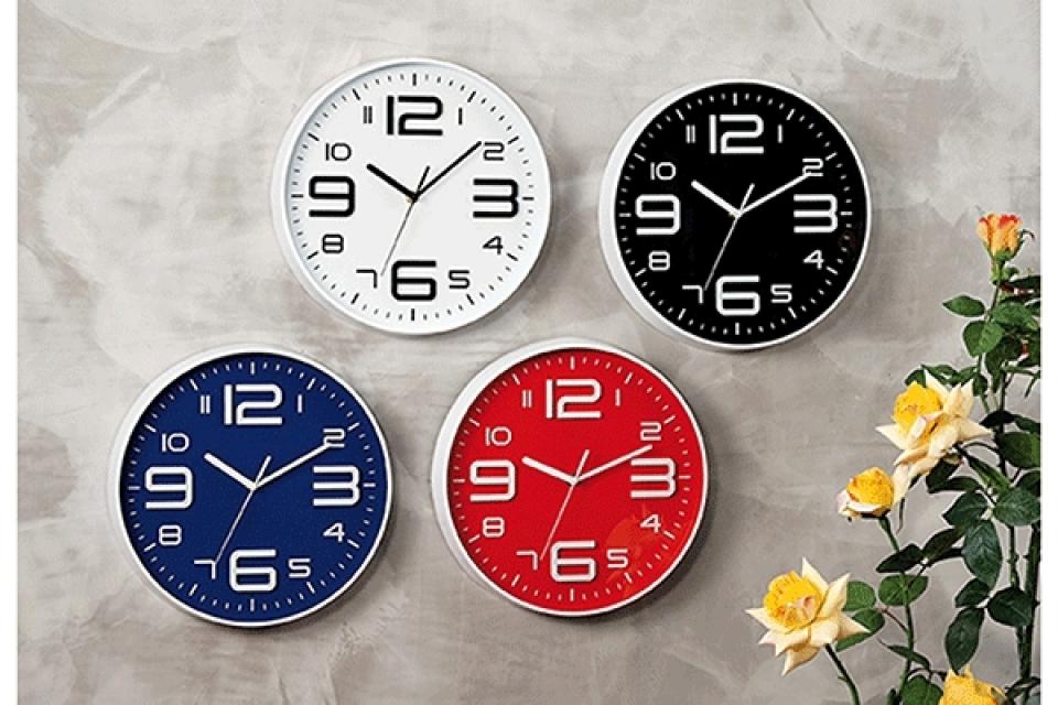 Zidni sat u boji / pp 4 modela