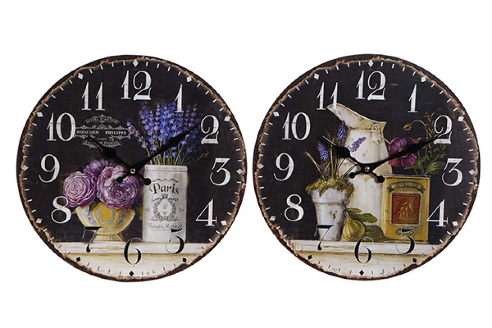 Zidni sat vaze 34 cm 2 modela