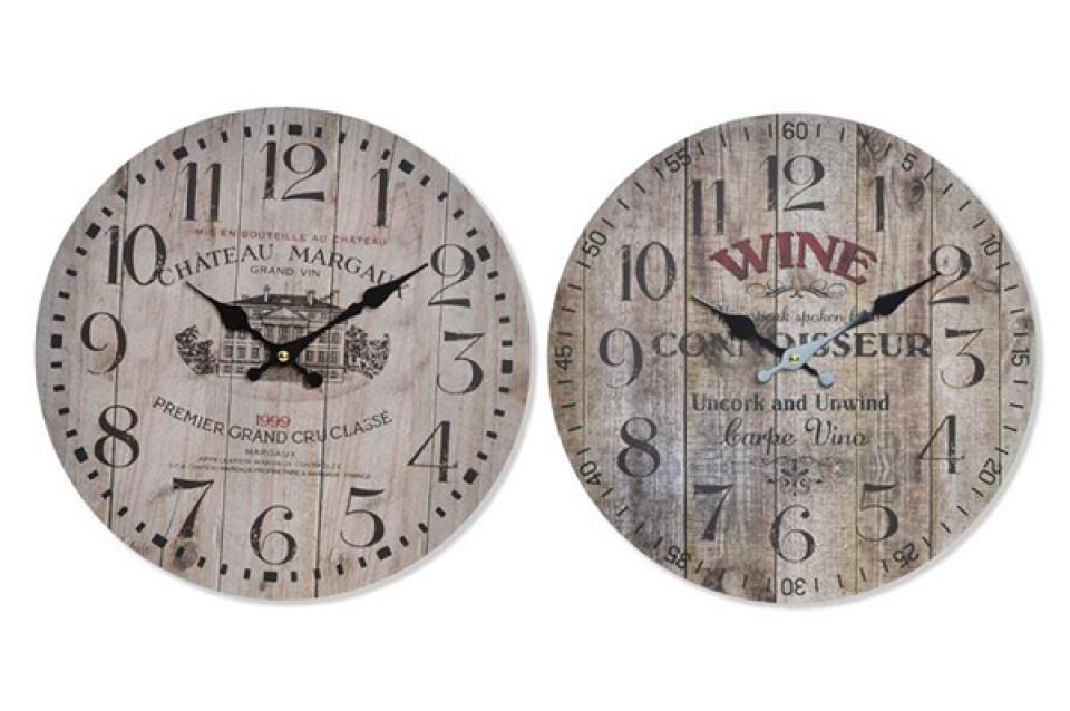 Zidni sat wine 34 x 2  2 modela