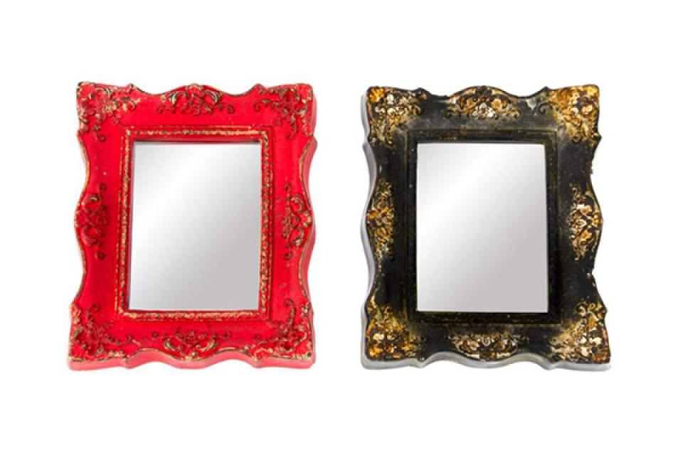 Zidno četvrtasto ogledalo