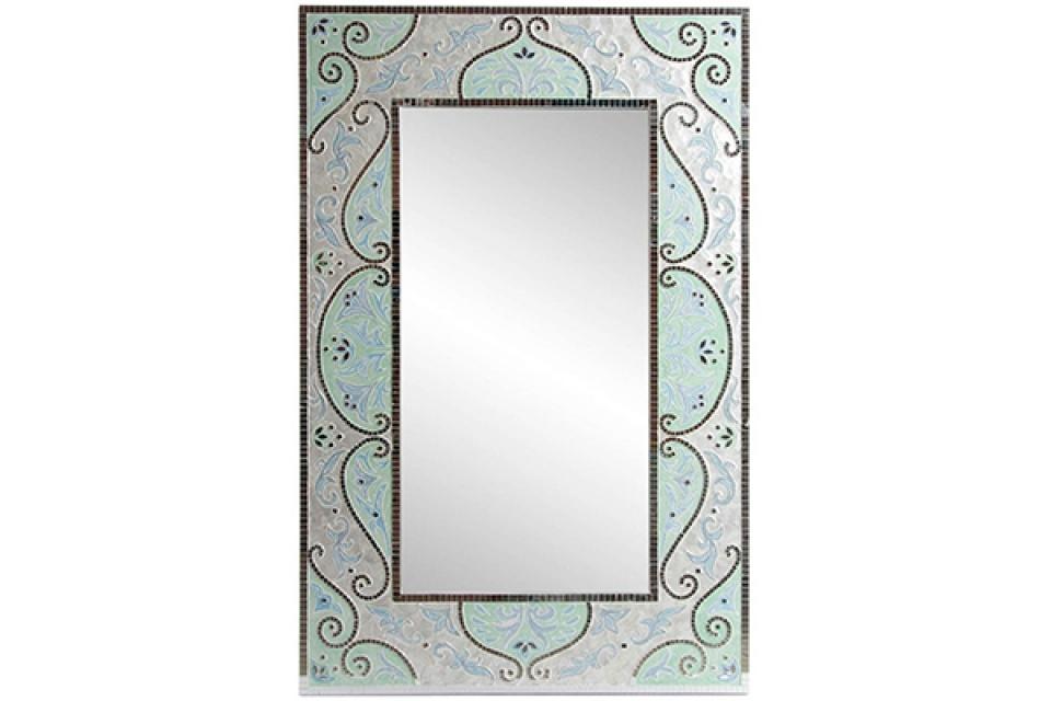 Zidno ogledalo sparkly 75x102x5