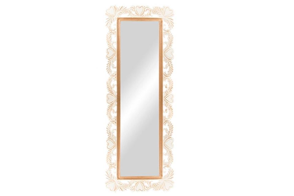Zidno ogledalo srce 45x120x1,5