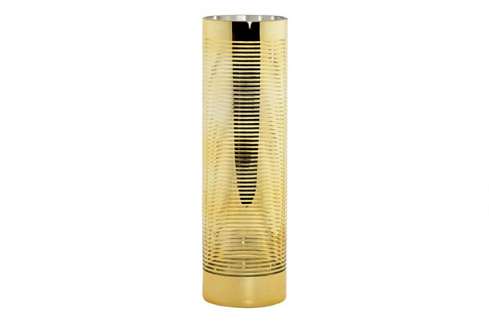 Zlatna vaza na šrafte 12x12x40