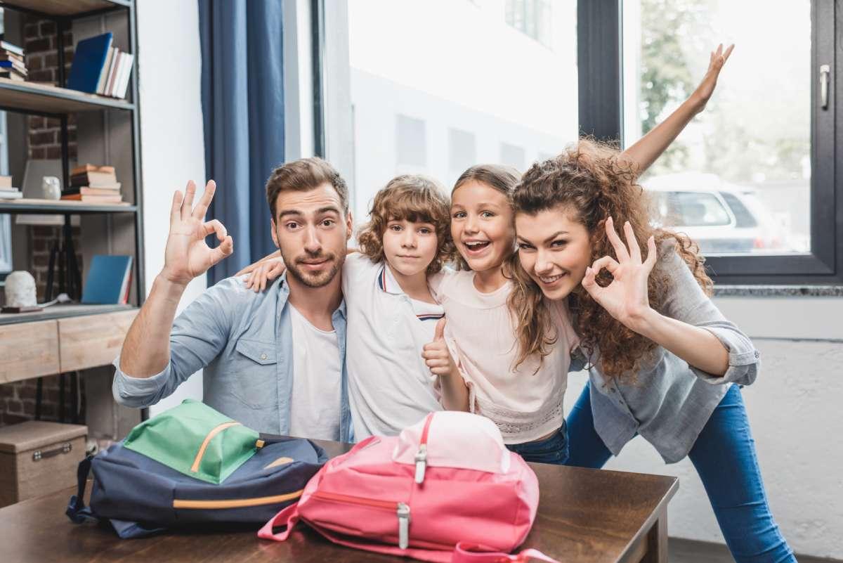 porodica, pripreme za skolu